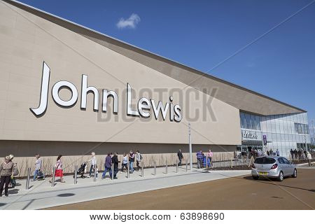 John Lewis store in York, UK