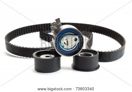 Timing Belt, Isolate.