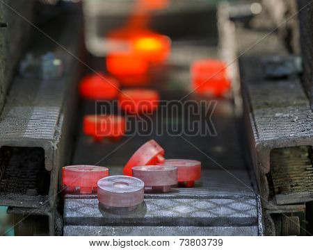 Steel Gear Hot Forging Production Line