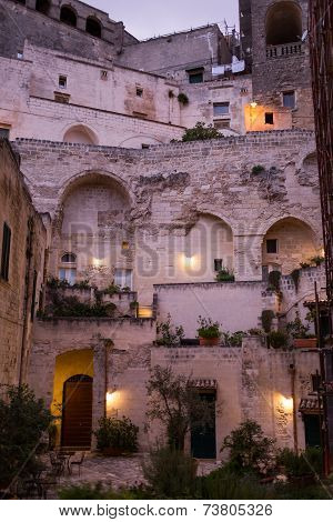 house of Matera, Balsilicata, Italy