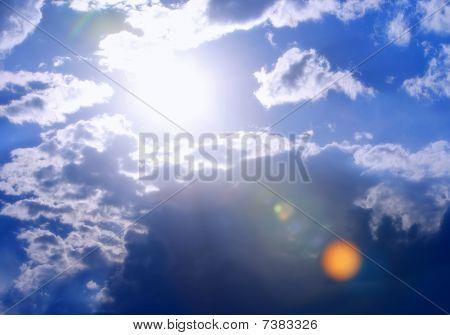 Bright and Vibrant Skyscape
