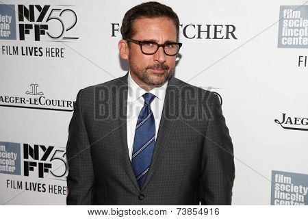 NEW YORK-OCT 10: Actor Steve Carell attends the