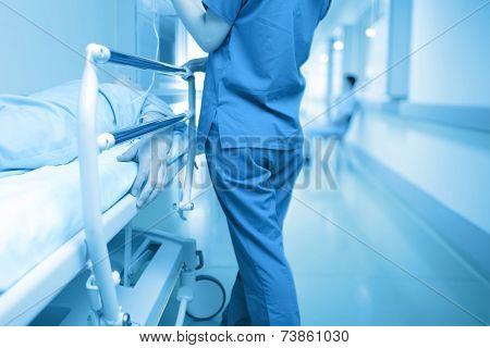 Patient's Pain And Compassion Nurse