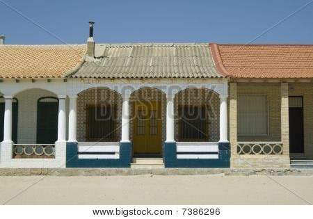 Spanish Beach Houses