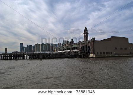 The Hoboken Ferry Terminal