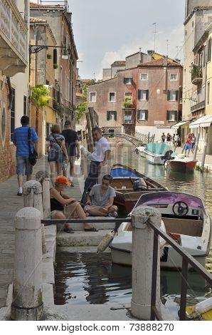 Canal In Dorsoduro