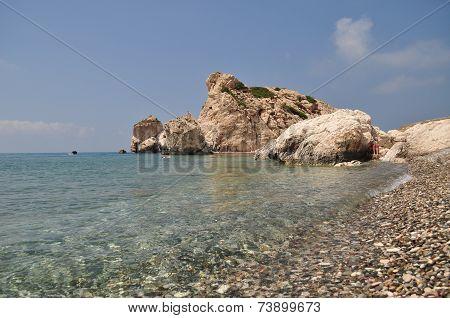Rock of Aphrodite near Paphos