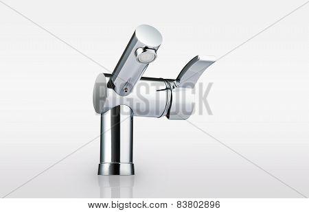 Water-supply faucet mixer