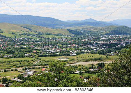 Village - rural landscape during summer