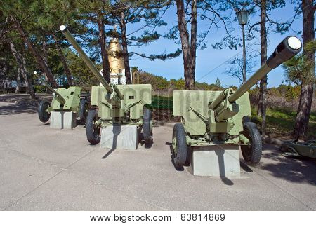 Old Soviet Cannons