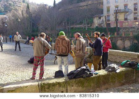 Street Music in Granada