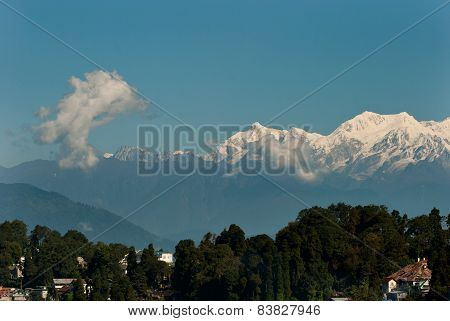 Himalayan Mountain range 1