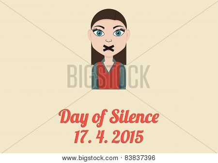 Day Of Silence Card