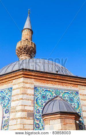 Ancient Camii Mosque, Facade Fragment. Izmir, Turkey