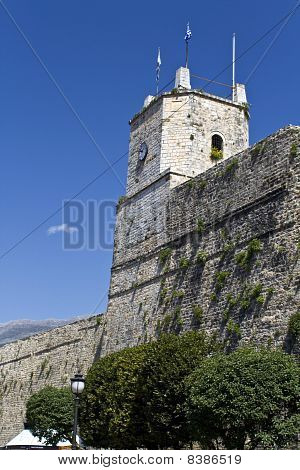 Castle of Ioannina city at Greece