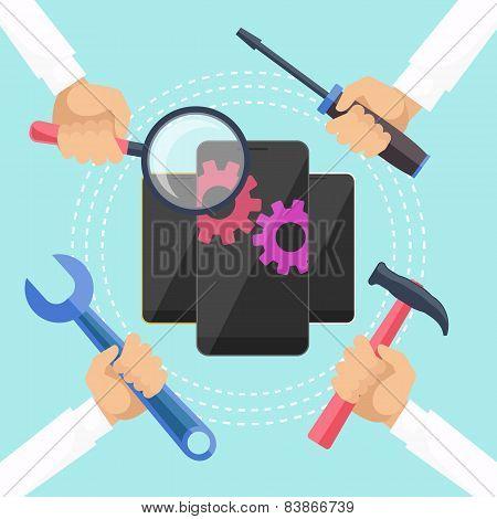 Mobile service concept