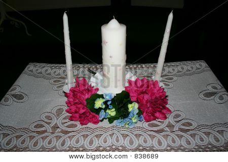 Unity candle set