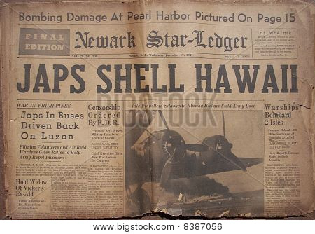 Historical World War Headlines 4