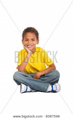 african american preteen boy
