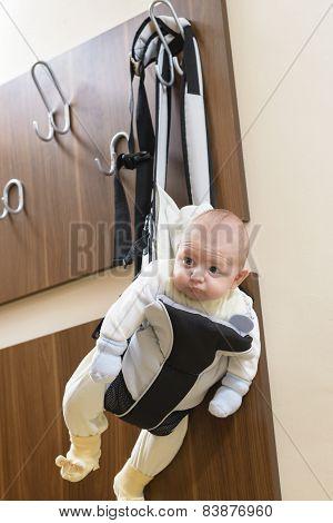 Baby In A Hanger