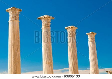 Salamis Archaeological Site. Famagusta District. Cyprus