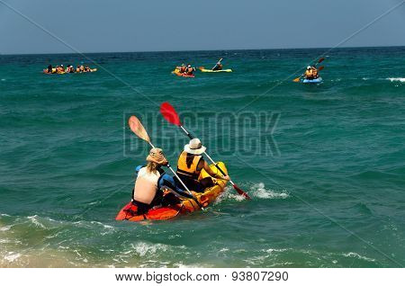 Collective Swimming Kayaking