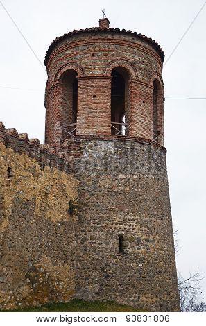 Fortress Batonis-Ciche (Irakli II Castle) in Telavi. Georgia