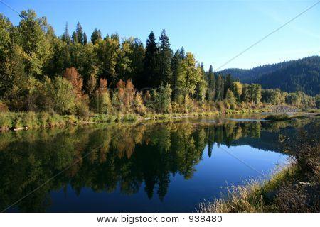 Autumn On The St. Joe River