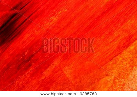 Red Hand Painted Texture