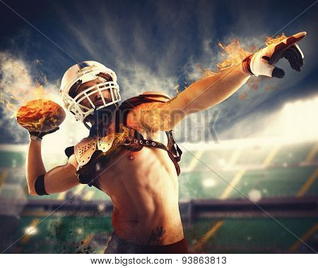 Football fireball