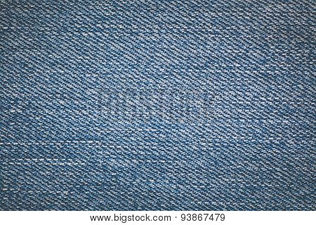 Blue denim jean texture and seamless background