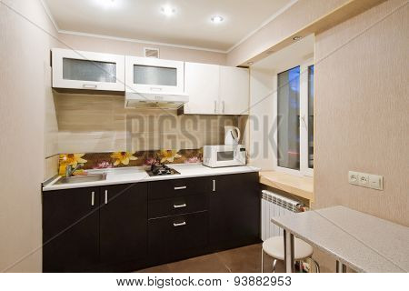 Kitchen Interior Design Architecture Stock Images