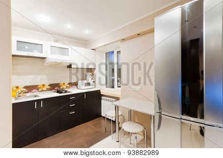 Kitchen Interior Design Architecture Stock Images