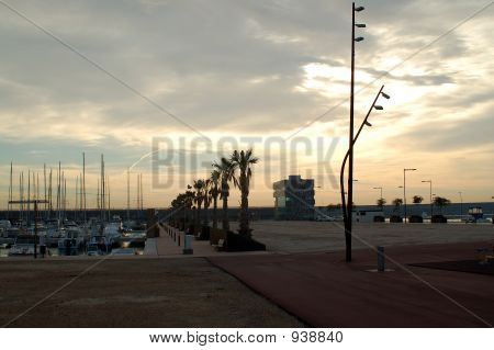 Badalona. Sea