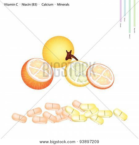 Bolo Maka Fruits With Vitamin C, B3 And Calcium
