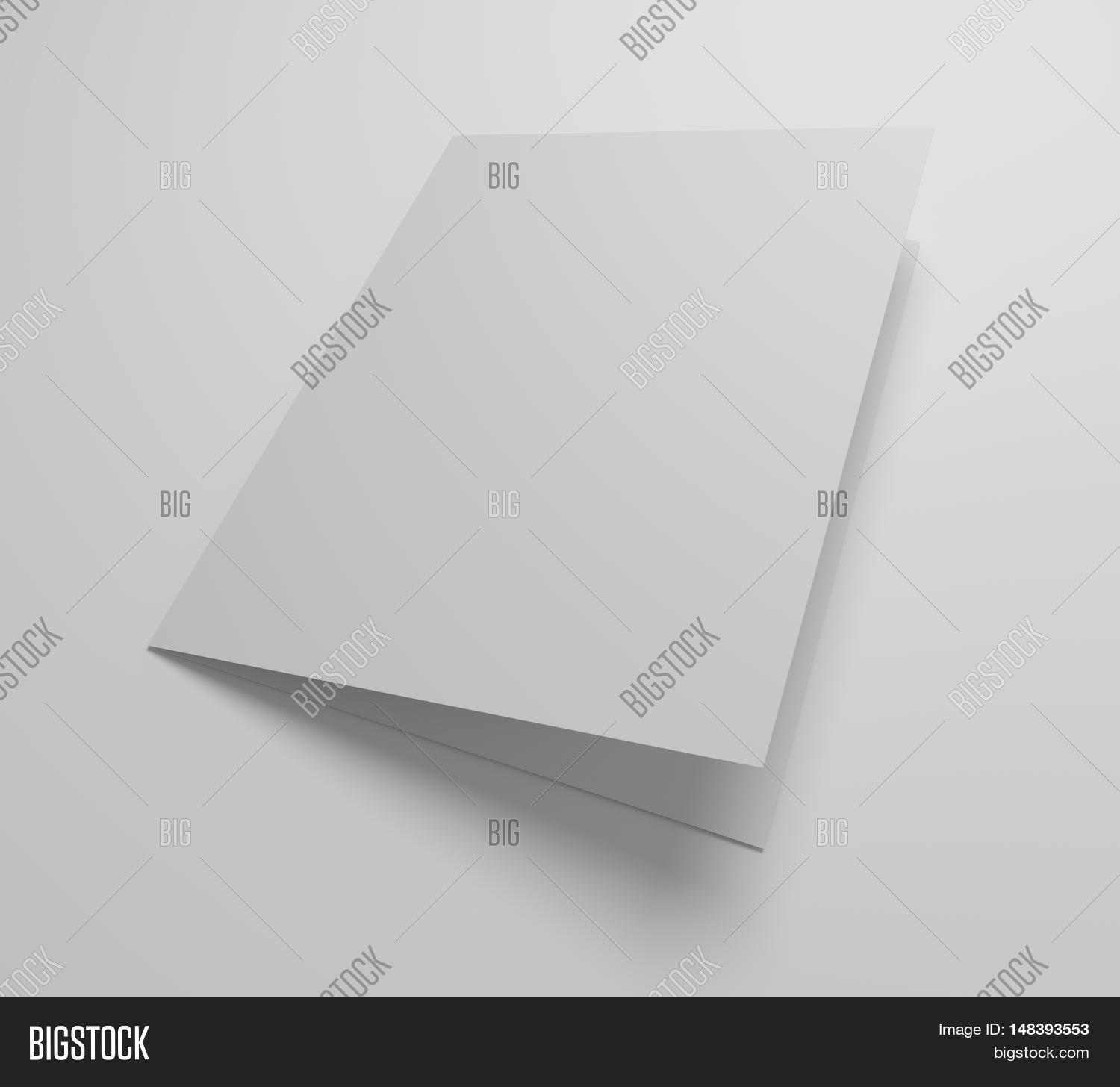 Blank Greeting Card Image Photo Free Trial Bigstock