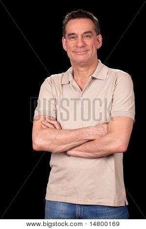 Attractive Smiling Man Portrait