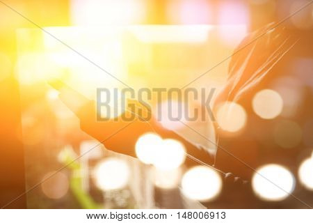 Closeup portrait of Asian woman using smartphone, concept of technology or communication.