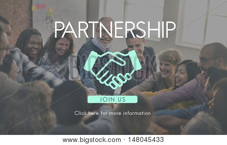 Collaboration Partnership Company Enterprise Corporate Concept
