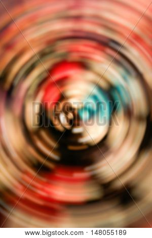 Colorful redial blur abstract use for background.