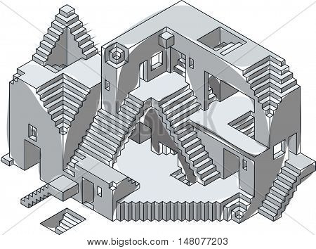 Under construction ink vector photo bigstock under construction ink illustration house project building sketch house blueprint drawing castle malvernweather Images