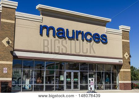 Ft. Wayne - Circa September 2016: Maurices Retail Mall Location. Maurices is a women's clothing chain and part of Ascena Retail Group I