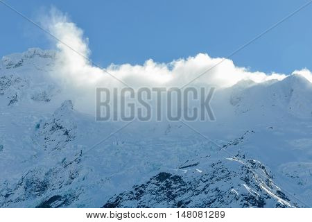 Clouds In Aoraki/mount Cook National Park, New Zealand