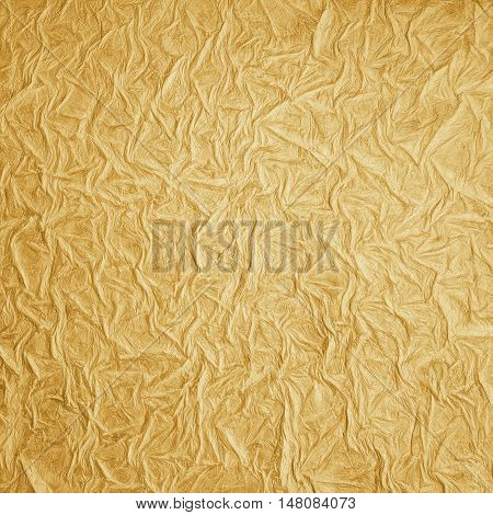Christmas background of golden surface. Ragged  texture