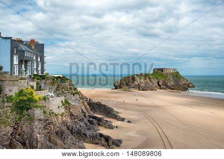 The Beach At Tenby
