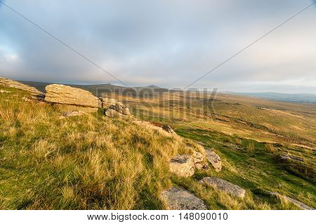 Dartmoor From Brat Tor