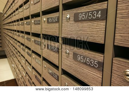 Locker MailBoxes postal for keep your information billspostcardmails etc condominium mailbox regulations
