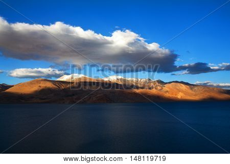 Tso Moriri Lake In Ladakh, India