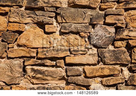 clinker brick wall detail - background and afterimage