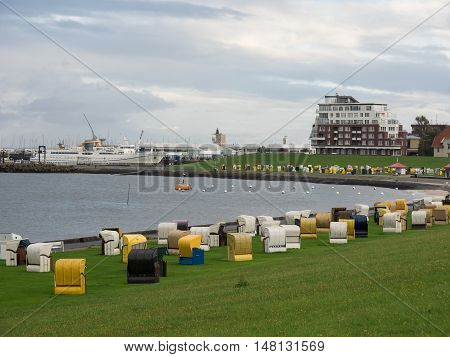 the City of Cuxhaven at the North sea